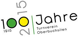 100 Jahre Turnverein Oberbuchsiten Logo